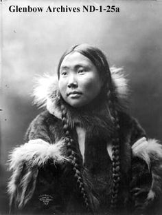 Inuit woman in fur clothing, Nome (?), Alaska.  Date: 1904