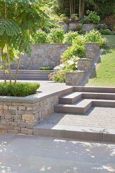 Bildergebnis für stahltrog terrasse