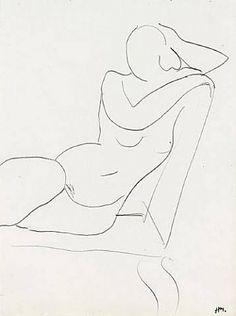 Henri Matisse, Matisse Drawing, Drawings Pinterest, Simple Line Drawings, Picasso, Creative Workshop, Artwork Images, Post Impressionism, Portrait Art