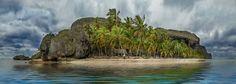 Destination from a distance. Photo: Wladimir Eusebio.- Playa Fronton in Las Galeras, Samaná