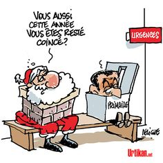 Joyeux Noël ! - Dessin du jour - Urtikan.net