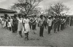 Training Of Militia By Guerrillas, Usulatán — Michel Setboun.  El Salvador : Work of Thirty Photographers (1983). CSUSM.