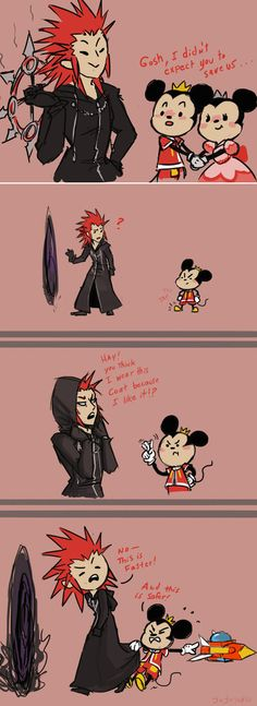 Technically, the coat protects him in the corridor of darkness, so... Lea is perfectly fine.