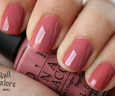 opi java mauve--my nails are currently this color! Mauve Nails, Opi Nails, Mauve Nail Polish, Colorful Nail Designs, Nail Art Designs, Manicure Y Pedicure, Manicure Ideas, Pedicures, Nagel Gel