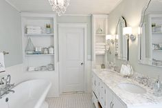 We completely renovated a 1980's outdated master bathroom (think metal… :: Hometalk