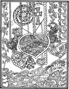 5 Proverb Bible Verse Adult Coloring Pages with Study Prompts Heart Coloring Pages, Quote Coloring Pages, Coloring Pages Inspirational, Free Adult Coloring Pages, Coloring Sheets, Coloring Books, Doodle Drawings, Doodle Art, Color By Numbers