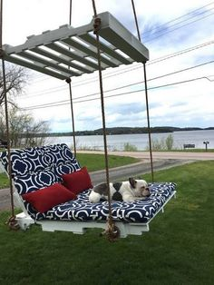 A creative swing for your outdoors