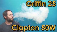 Geekvape Griffin 25 - Clapton @ 50W review, How it vapes?