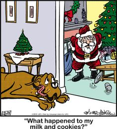 Marmaduke Comic Strip, December 25, 2015     on GoComics.com