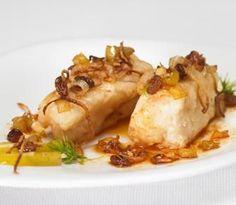 Merluza en Salsa de Manzana y Pasas | Recetas Pescanova
