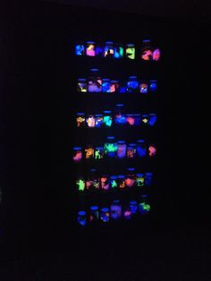 Elementen laten oplichten mbv bepaalde lichten
