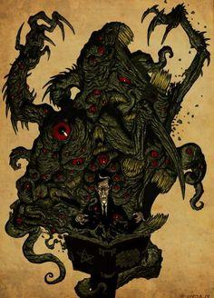 Lovecraft and shoggoth