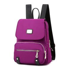 Women Nylon Mummy Backpack Casual Bright Color Shoulder Bag  Worldwide delivery. Original best quality product for 70% of it's real price. Hurry up, buying it is extra profitable, because we have good production sources. 1 day products dispatch from warehouse. Fast & reliable shipment...