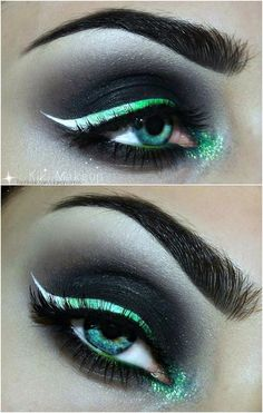 When it comes to eye make-up you need to think and then apply because eyes talk louder than words. The type of make-up that you apply on your eyes can talk loud about the type of person you really are. Makeup Inspo, Makeup Art, Makeup Inspiration, Makeup Ideas, Makeup Tricks, Makeup Guide, Makeup Tutorials, Medusa Makeup, Goth Makeup Tutorial