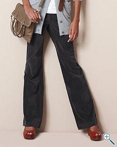Fine-wale Corduroy Trousers $88, Garnet Hill