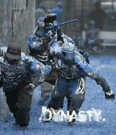 Dynasty My favorite paintball team