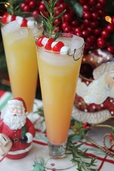 Ambrosia Cocktail ~ Coconut Rum, Orange Juice, Pineapple Juice, Grenadine