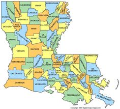 Louisiana is the only state with parishes instead of county's.  I live in Tangipahoa Parish.