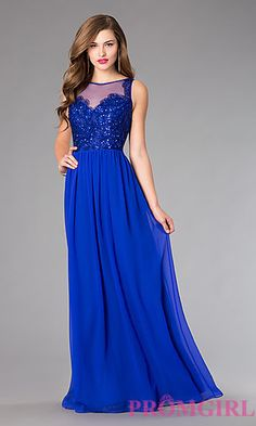 Floor Length Prom Dress by Sean Collection at PromGirl.com