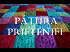 Proiectul Patura Prieteniei-TUTORIAL Patratelul bunicii