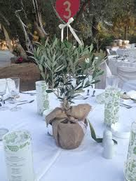 olive tree for centerpieces - Bing images Olive Branch Wedding, Olive Wedding, Greek Wedding, Floral Wedding, Wedding Flowers, Branch Centerpieces, Wedding Centerpieces, Wedding Table, Dinner Party Decorations