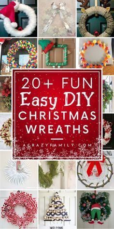 4 Easy Steps For Developing A Sunroom Make Your Door Festive For The Holidays With These Creative Diy Christmas Wreaths. From Rustic To Modern, There Are Many Ideas To Choose From. Homemade Christmas Wreaths, Diy Christmas Gifts, Holiday Wreaths, Holiday Crafts, Christmas Crafts, Christmas Decorations, Christmas Ornaments, Christmas Ideas, Yule Decorations