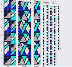 16 around tubular bead crochet rope pattern. See photo Crochet Bracelet Pattern, Crochet Beaded Bracelets, Bead Crochet Patterns, Bead Crochet Rope, Beaded Jewelry Patterns, Peyote Patterns, Beading Patterns, Beading Tutorials, Bracelet Patterns