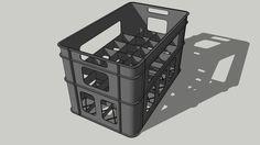 Crate for 24 x bottle - Warehouse Warehouse Plan, Plastic Laundry Basket, Crates, Bottle, Storage, Showroom, Home Decor, Models, Tv