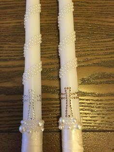 I do forever Handmade Greek Orthodox Wedding Candles Celtic Wedding, Greek Wedding, Irish Wedding, Wedding Unity Candles, Diy Candles, Orthodox Wedding, Baptism Candle, Etsy, Christian Church