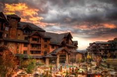 Grand Lodge at Peak 7, Breckenridge Colorado. I love this place!  I can't wait to be there snowboarding, hanging out in the pools and snuggling by a fire in our condo.  Soon!