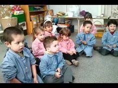 El inicio de una clase de percusión con niños de 3 años en nuestro programa de…