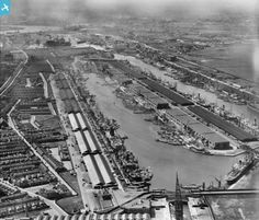 The Royal Albert and King George V Docks, North Woolwich, 1928
