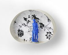 Nicolai Balabin - Dream of The North, brooch, 2007, silver, print on paper, plastic, paint,