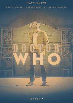 Doctor Who: Series 7 fan poster.