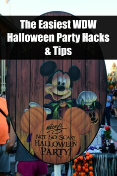 Headed to Mickey's Not-So-Scary Halloween Party this year? Want to make the most out of your visit? Here's our best Disney World Halloween Party Tips and Hacks!