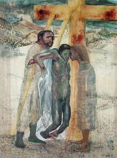"Station 13: Jesus Is Taken Down from the Cross | ""Deposition"" by Roberto Dragoni"