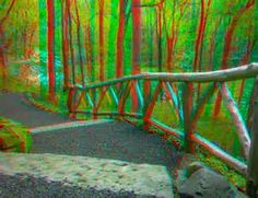 . 3d Foto, 3d Pictures, Red And Blue, 3d Glasses, Madness, Nature, Cards, Photography, Painting
