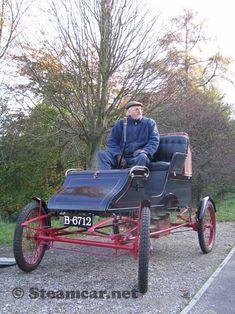 1904 Stanley Type CX 8hp steam car