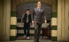 """Na ação """"Kingsman - Serviço Secreto"""", Colin Firth é um agente secreto veterano que auxilia o novato interpretado por Taron Egerton"""