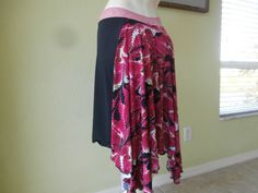 Argentine Tango   Skirt /  Jupe  US 4 to 8 by COCOsDANCEWEAR