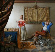 Michael Cheval Les albums de Céline E.: Chess - Opus 2