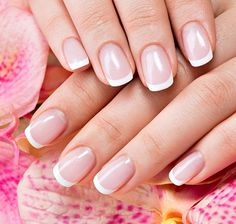 French Manicure For Christmas! <3 Check now :)