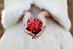 More Snow White Inspiration - The Beaded Red apple is such a perfect touch - just lovely...
