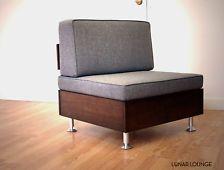 E.F Lounge Chair Mid Century Modern nelson Era Design