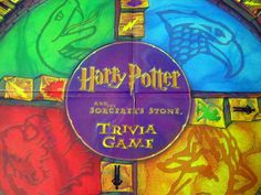 2000 Harry Potter Sorcerers Stone Trivia Game Complete Like New Age 8 Up Wizard
