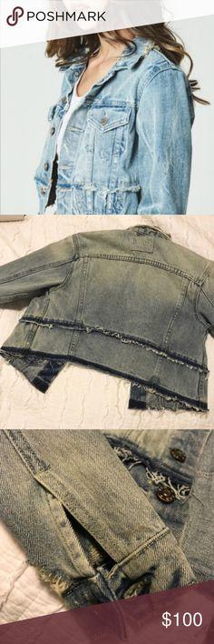 0707d8dd20ddb I just added this listing on Poshmark: LF Carmar Denim Distressed Slight  Crop Jacket.
