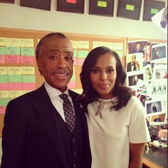 Reverend Al Sharpton ‏@TheRevAl Happy 38th birthday to my friend, @KerryWashington.