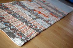 Fall Lines Reversible Table Runner Tutorial || JCasa *handmade for Sew,Mama,Sew!