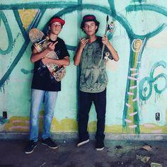 Instagram #skateboarding photo by @kelvin_p90_ - @caio_chico  #skate#skateboarding #skatefamilia. Support your local skate shop: SkateboardCity.co