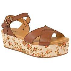 Women's Bass OPHELIA Ankle-Strap Platform Wedge Sandals:Amazon:Shoes